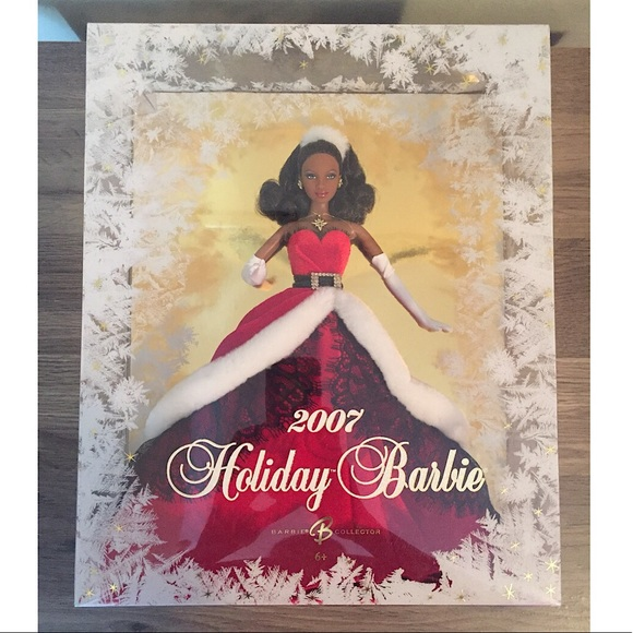 2007 Holiday Barbie Doll